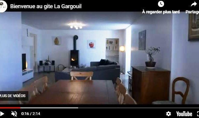 Visite en vidéo du gîte La Gargouil - Charroux (86)